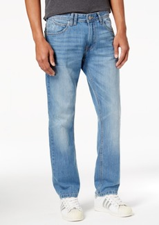 Sean John Men's Relaxed-Fit Straight-Leg Destroyed Jeans, Created for Macy's
