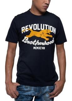 Sean John Men's Revolution & Brotherhood Graphic T-Shirt