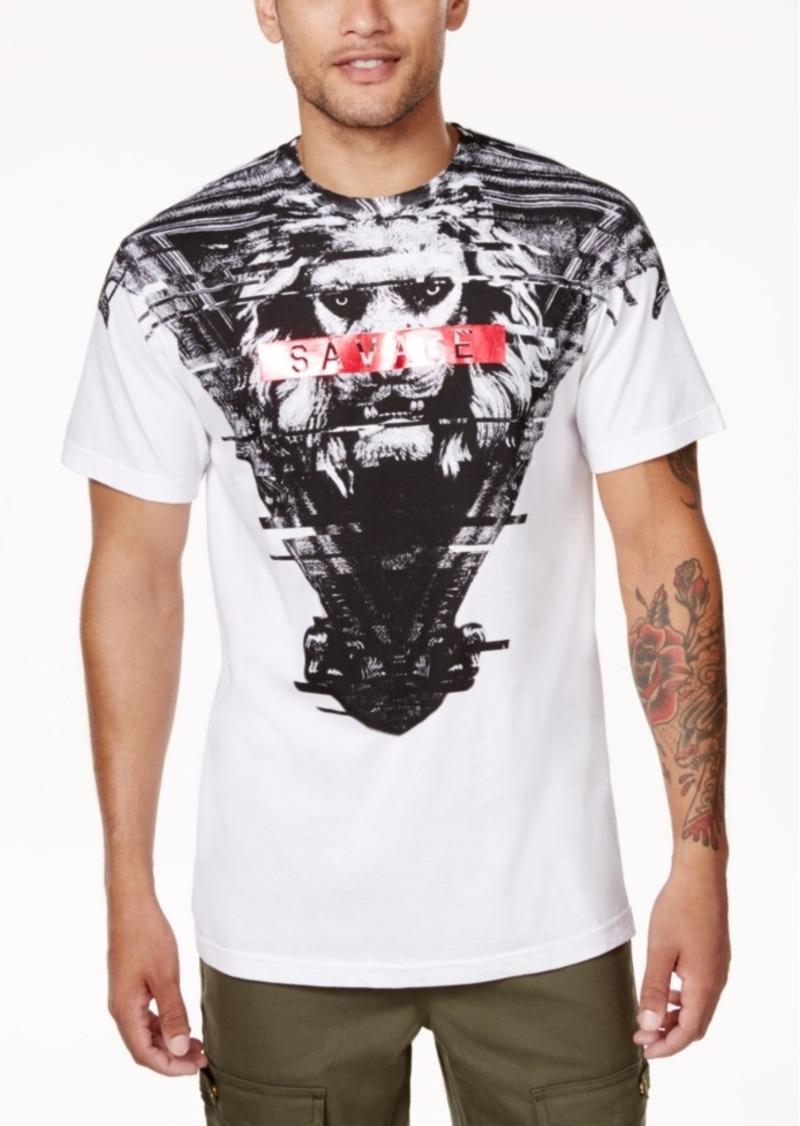 Sean john sean john men 39 s savage lion graphic print t shirt for Sean john t shirts for mens