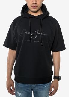 Sean John Men's Script Logo Hooded Sweatshirt