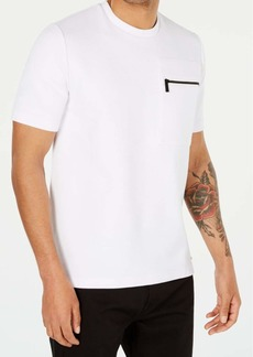 Sean John Men's Short Sleeve Crew Neck Ottoman Knit Pocket Tee Shirt  3XL