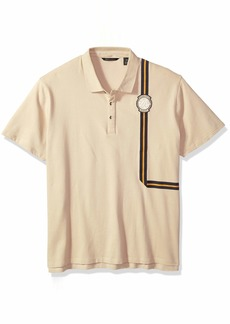Sean John Men's Short Sleeve Polo  2XL