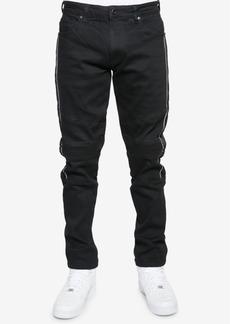 Sean John Men's Slim-Fit Moto Jeans, Created for Macy's