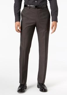 Sean John Men's Slim-Fit Stretch Black/White Neat Suit Pants
