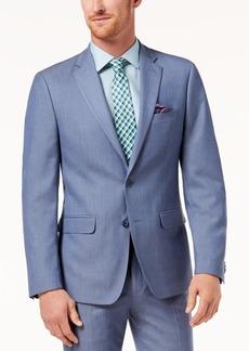 Sean John Men's Slim-Fit Stretch Light Blue Suit Jacket