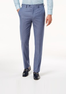 Sean John Men's Slim-Fit Stretch Light Blue Suit Pants