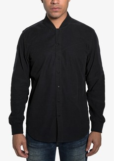 Sean John Men's Snap-Front Baseball Shirt