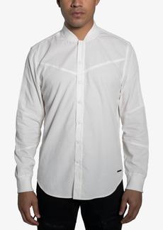 Sean John Men's Snap-Front Baseball Shirt