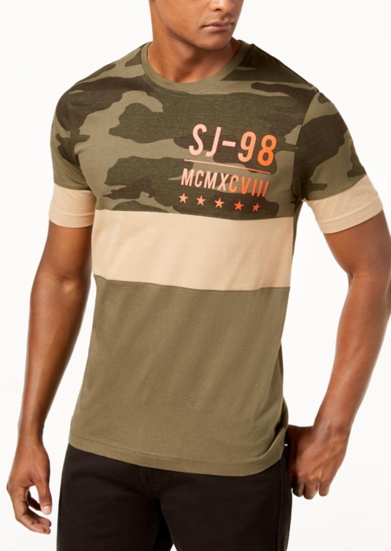 e78d191e10c1 Sean John Sean John Men s Split Camo T-Shirt