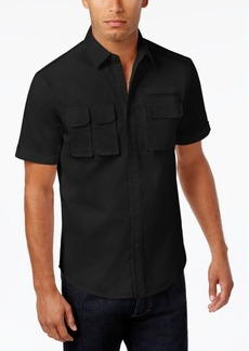 Sean John Men's Multi-Pocket Cotton Shirt, Created for Macy's