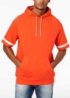 Sean John Men's Striped Sleeve Hoodie