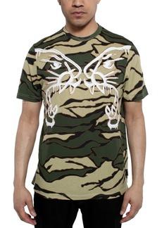 Sean John Men's Tiger Camouflage Graphic T-Shirt