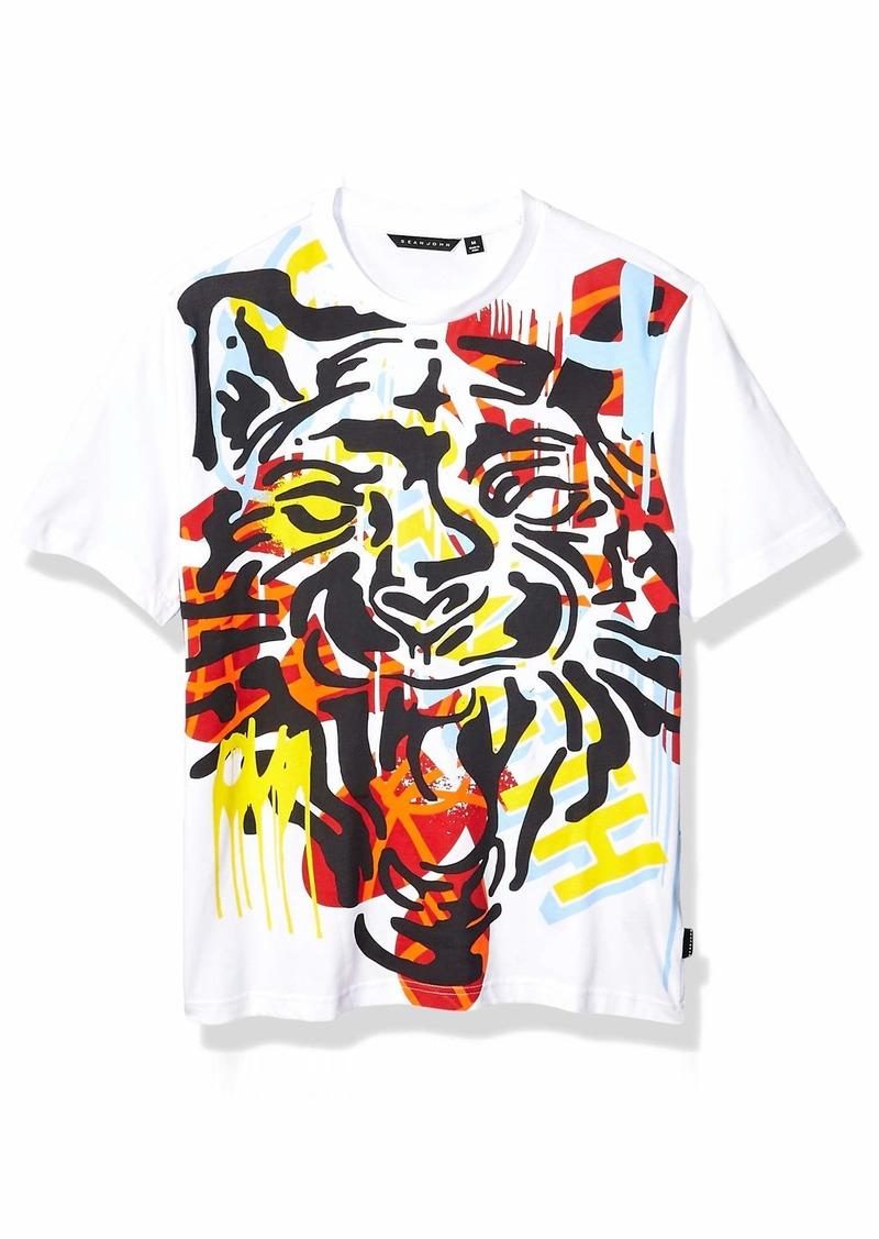 Sean John Men's Tiger Graphic Tee  M