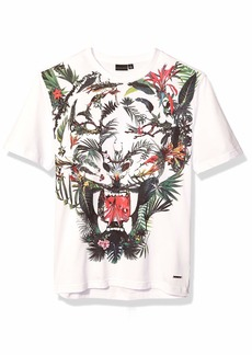 Sean John Men's Tiger Graphic Tee  M