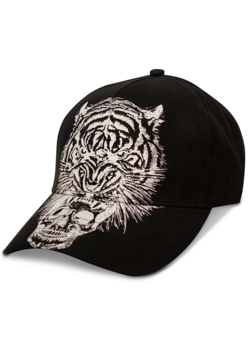 Sean John Men's Tiger Skull Hat