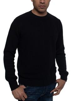 Sean John Men's Tri-Pattern Knit Sweater
