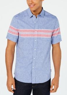 Sean John Men's Wraparound Chest Stripe Shirt
