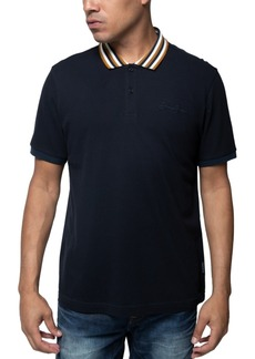 Sean John Men's Yarn Dyed Polo Shirt