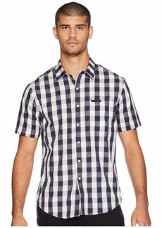 Sean John Short Sleeve Checker Shirt
