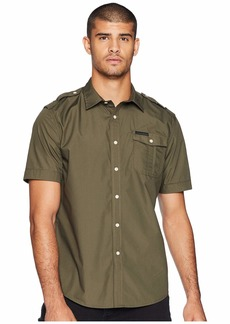 Sean John Short Sleeve Solid Shirt