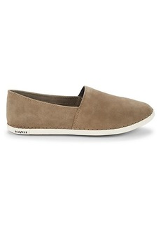 SeaVees Cayucos Suede Slip-On Sneakers