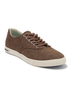SeaVees Hermosa Plimsoll Raffia Sneaker