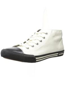 SeaVees Men's 04/67 White Walls Mid-Cut Fashion Sneaker  10.5 D US