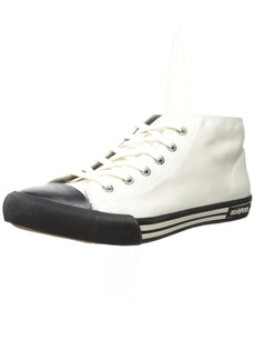 SeaVees Men's 04/67 White Walls Mid-Cut Fashion Sneaker  11 D US