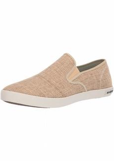 SeaVees Men's Baja Slip On Raffia Sneaker   M US