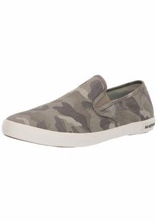 SeaVees Men's Baja Slip On Saltwash Sneaker sage camo  M US