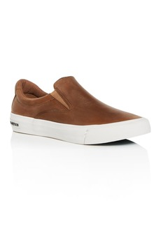 SeaVees Men's Hawthorne Distressed Leather Slip-On Sneakers