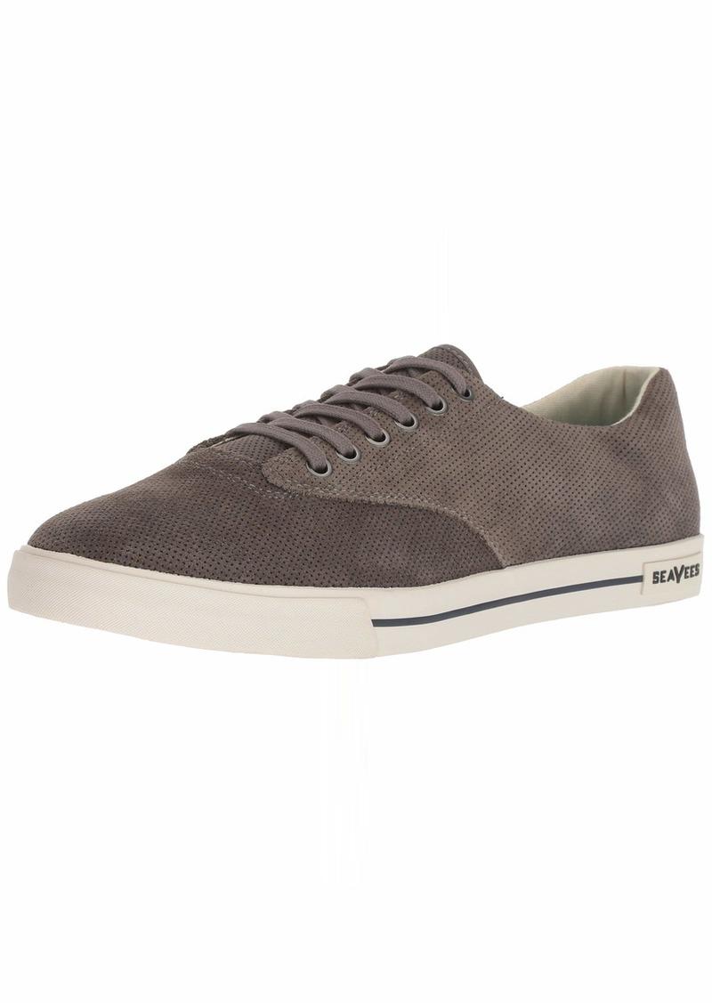 SeaVees Men's Hermosa Plimsoll Varsity Sneaker   M US