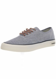 SeaVees Men's Legend Sneaker Chambray Navy  M US