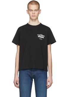 Second/Layer Black EBM Lock Up T-Shirt