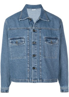 Second/Layer boxy denim jacket