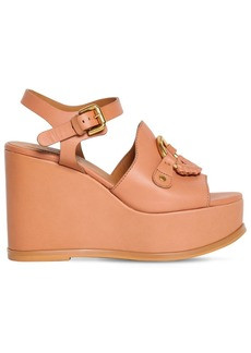 See by Chloé 100mm Leather Sandals