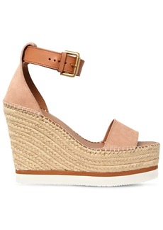 See by Chloé 120mm Glynn Suede Wedges