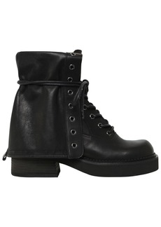 See by Chloé 50mm Leather Army Boots