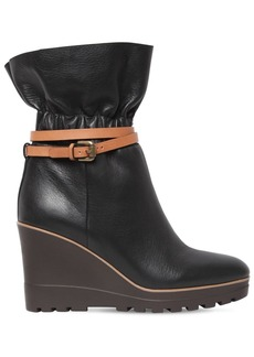 See by Chloé 70mm Leather Ankle Boots