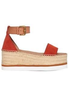 See by Chloé 80mm Suede Wedges
