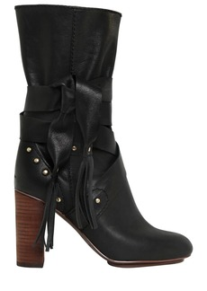 See by Chloé 90mm Leather Boots