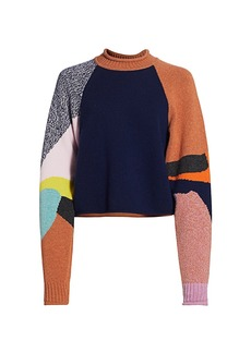 See by Chloé Abstract Novel Sweater