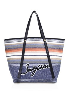 See by Chloé Andy Striped Tote