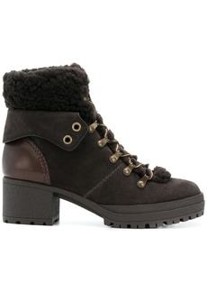 See by Chloé ankle lace-up boots