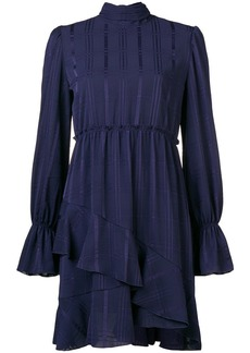 See by Chloé asymmetric ruffle-hem dress