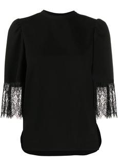 See by Chloé asymmetrical sleeve blouse