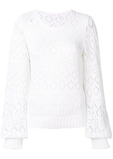 See by Chloé balloon sleeve jumper