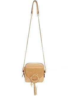 See by Chloé Beige Mini Joan Camera Bag