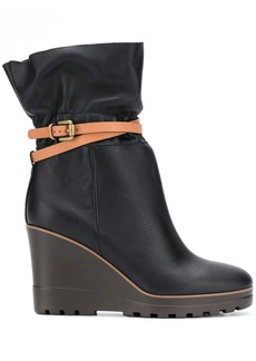 See by Chloé belt wrap boots