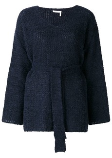 See by Chloé belted knit sweater